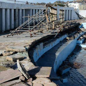 Jubilee Pool Storm Damage